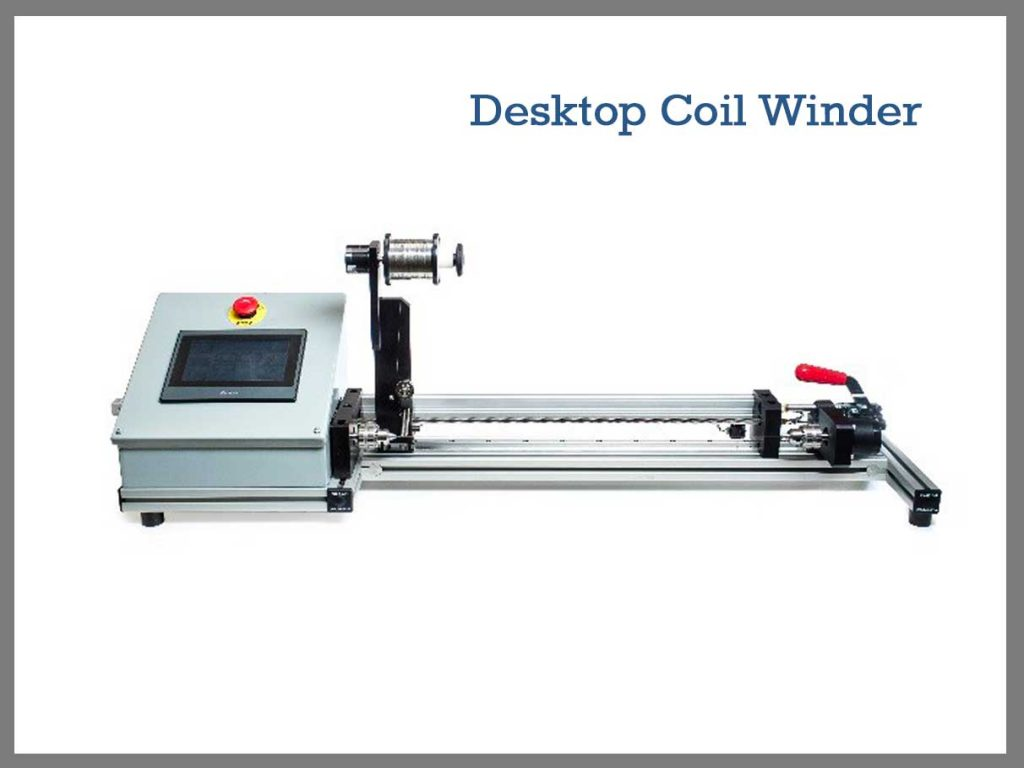 Desktop Coil Winder