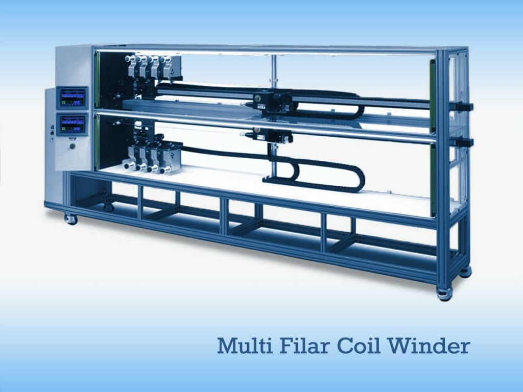 Multi Filar Coil Winder