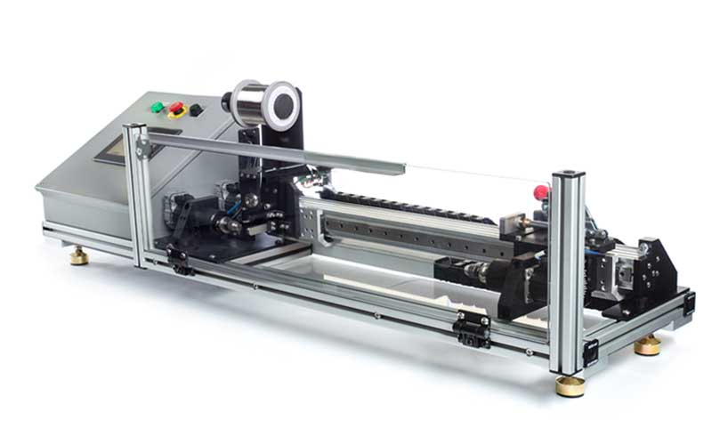 Image shows Engineering By Design's Benchtop Winder base model